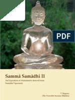 Samma Samadhi II 02Nov07