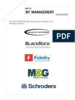 Vault Guide to Investment Management