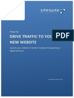 Use social media to drive web traffic