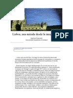 Lisboa, una mirada desde la imaginación Bárbara Fraticelli (Espéculo)