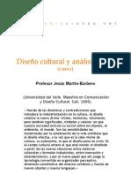 Curso - Diseño cultural y análisis social