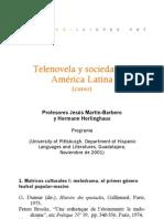 Curso - Telenovela y sociedad en América Latina - con H. Herlighaus