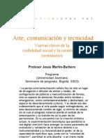 Seminario - Arte, comunicación y tecnicidad