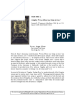 2005 - Florence Morgan Gillman - Review of 'Caiaphas. Friend of Rome and Judge of Jesus' by Helen K. Bond