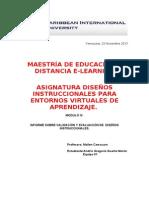 Inf Eval Diseño Instruccional Andris Duarte Modulo IV