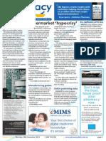 Pharmacy Daily for Thu 19 Dec 2013 - Supermarket \'hypocrisy\', ASMI - Multivitamins OK, Aspirin cancer study, Travel Specials and much more