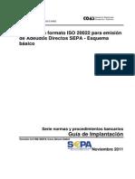 Cuaderno XML Emisión Adeudos SDD Core Noviembre 2011