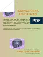 Innovación Educativa y pedagógica