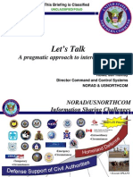 NorthCom FEMA Inteoperability! Meet Military Region Commanders Active Duty Army!
