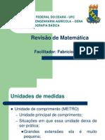 Aula 01 - Revisao Matematica