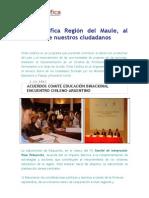 Chile Califica Región del Maule, nuestras acciones y desafíos