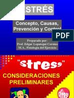 Estres Concepto Causa Prevencion y Control