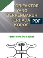 3. Faktor-faktor Yang Mempengaruhi Korosi
