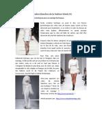 Les Robes Blanches de La Fashion Week (II)