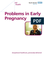 Problems in Early Pregnancy