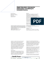 Quitmeyer - Digital Naturalism Doctoral School Application