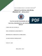 Informe Laboratirio de Rocas 1