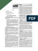 PLAN 13185 2013 Ley Del Silencio Administrativo