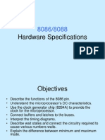 8086-8088 Hardware Specifications