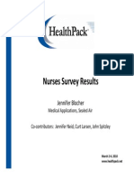 2010 Nurses Survey Results