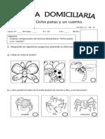 Evaluación Libro Ocho patas y un cuento Agosto 2013
