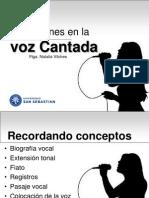 Alteraciones de La Voz Cantada