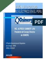 Calidad Del Servicio Electrico Del Peru