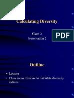 Species Diversity Concepts