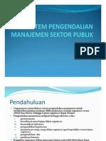 Sistem Pengendalian Manajemen Dan Sistem Pengendalian Intern