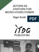 Motors as Generators