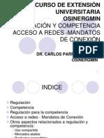 VII CURSO EXTENSIÓN- DERECHO ENERGÍA - ACCESO A REDES