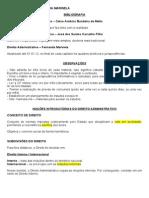Administrativo - 1 - Noções introdutórias do Direito Administrativo