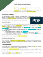 Administrativo - 14 - Controle da Administração Pública