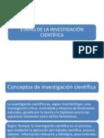 Etapas de La Investigacion Cientifica Septima Clase (2)