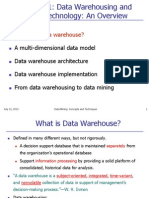 Chapter 1 Part 1 DataWarehouse