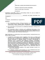 Confidentiality NDA Agreement