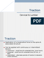 Cervical and lumbar Traction