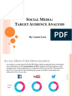 social media target analysis