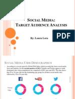 social media target analysis