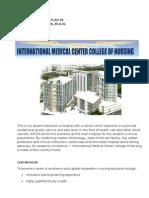 My Dream Institution, School, College of Nursing