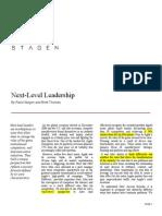 1 Next Level Leadership