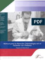 Manual Atencion Odontologica en El Paciente Con Diabetes