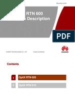 OptiX RTN 600 Hardware Description