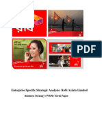 Enterprise Specific Strategic Analysis Robi Axiata Limited