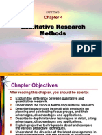 Chapter 04 Qualitative Research Methods