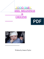 5126682 1000 Baby NamesMeanings and Origins PDF
