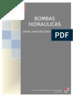 Clasificacion de Las Bombas Hidraulicas