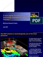 Technology Management in E&P