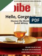 Imbibe Scotch Cover Story by Camper English Jan Feb 2009