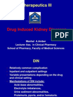 Drug Induced Kidney Diseases
